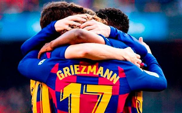Reñida victoria del Barcelona ante el Getafe