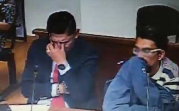Un Juez y un abogado rompen en llanto tras escuchar el caso de abuso y tortura a bebé de 22 meses