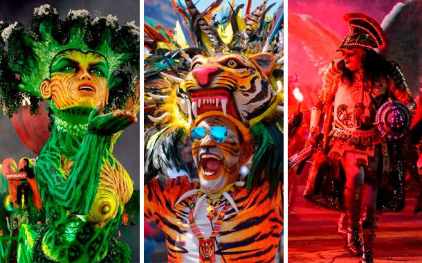 Brasil, Colombia y Bolivia viven la algarabia del Carnaval