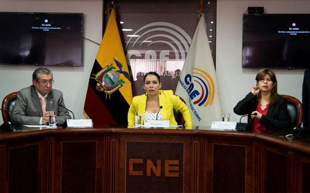 CNE advierte que no habrá elecciones si ministerio de economía no da recursos