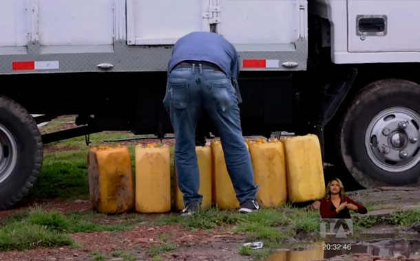 Combate al contrabando de combustibles en la frontera norte