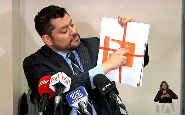 Correa no pudo introducir nuevas pruebas dentro del caso sobornos
