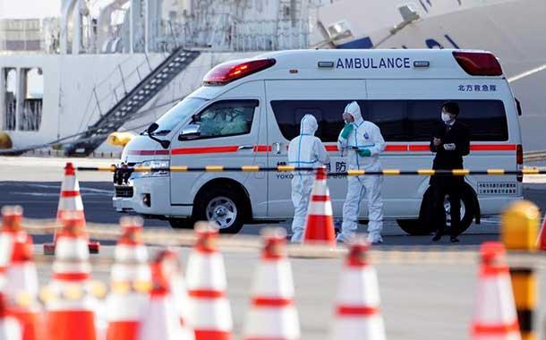 Detectan 60 nuevos casos de coronavirus en el crucero 'Diamond Princess' en Japón