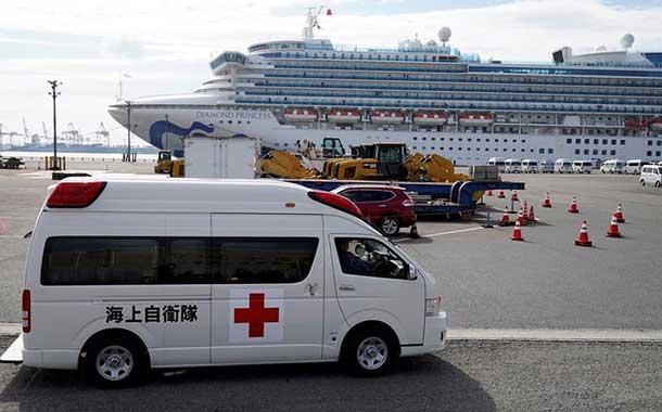 Japón confirma 175 casos de coronavirus en el crucero en cuarentena en Yokohama