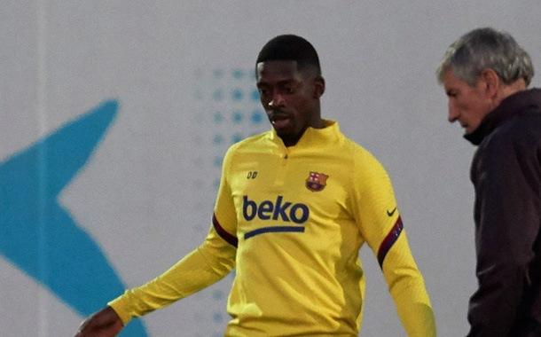 Dembélé sufre una complicada lesión en Barcelona