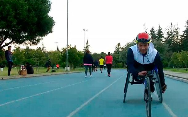 Jonathan Herrera, deportista en silla olímpica, competirá en México