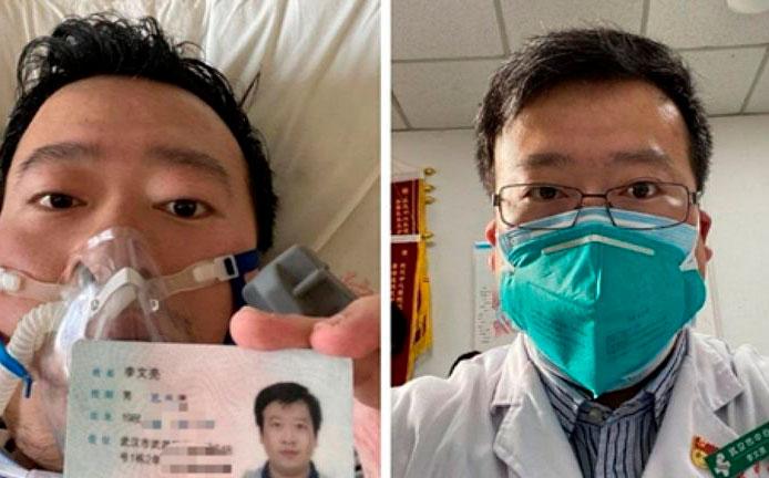 Muere por coronavirus el médico chino reprendido por alertar de la enfermedad
