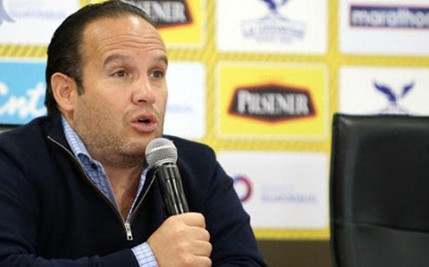 Egas confirma: la selección jugará en el estadio Rodrigo Paz Delgado