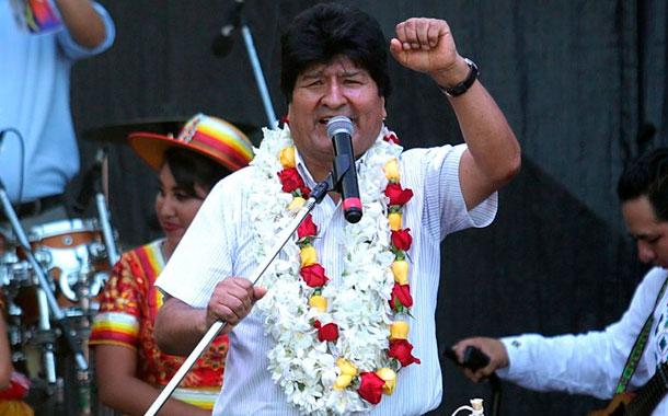 Evo Morales sale de Buenos Aires rumbo a Cuba
