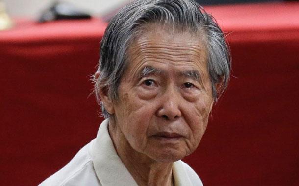 Hospitalizan a Alberto Fujimori por una parálisis facial