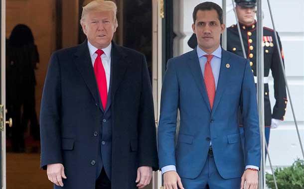 Juan Guaidó se reunió con Donald Trump en la Casa Blanca