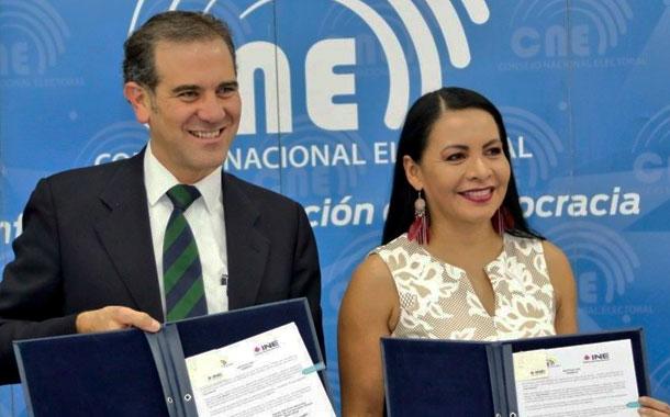El CNE junto al INE de México analizarán los procesos electorales