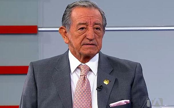 Entrevista a Oswaldo Jarrín, ministro de Defensa