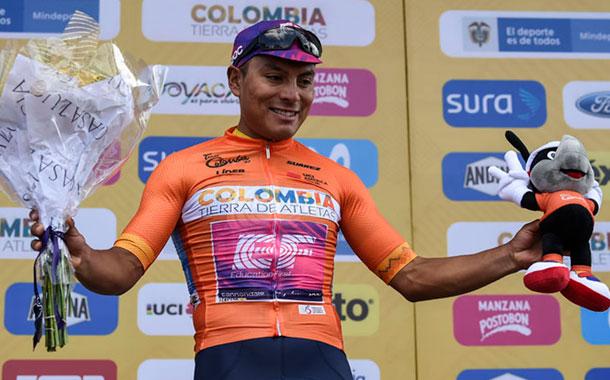 Jonathan Caicedo consiguió el tercer lugar en el Tour Colombia