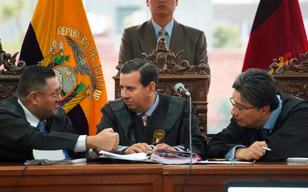 Fue suspendida la audiencia de juicio del Caso sobornos