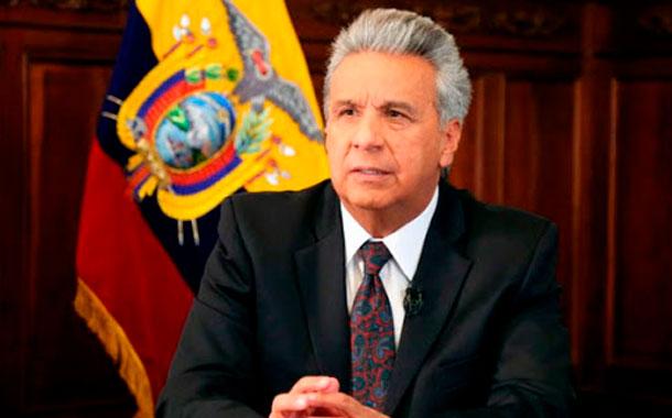 """Lenín Moreno: """"Caiga quien caiga. Exijo todo el peso de la justicia para quienes roban dineros públicos"""
