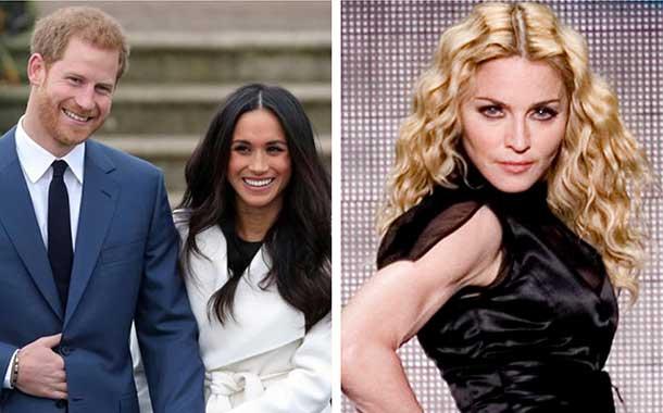 Mira la oferta que le hizo Madonna a Harry y Meghan Markle