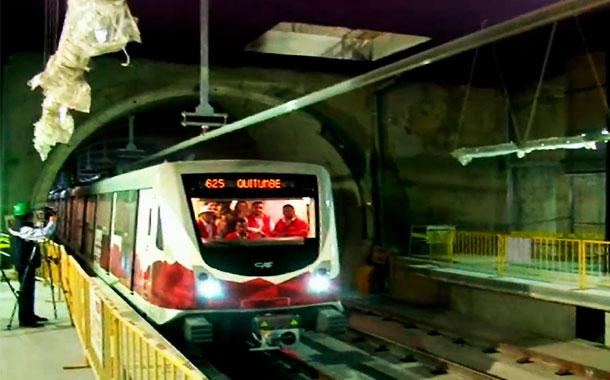 El metro de Quito tiene un 92% de avance