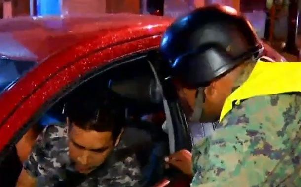 Militares apoyan en operativos de control antidelincuencial