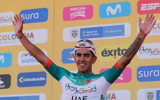 Juan Molano gana la segunda etapa del Tour Colombia