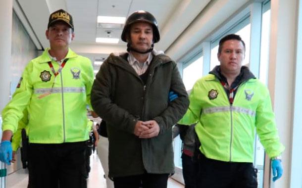 Exjefe de Inteligencia de Correa llega a Ecuador