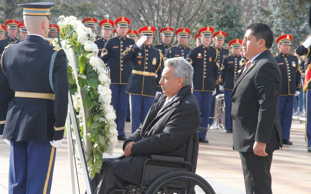 En breve el presidente Moreno se reunirá con el presidente Trump