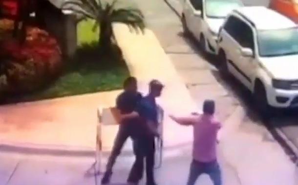 Sujetos armados roban a joven en Juan Tanca Marengo