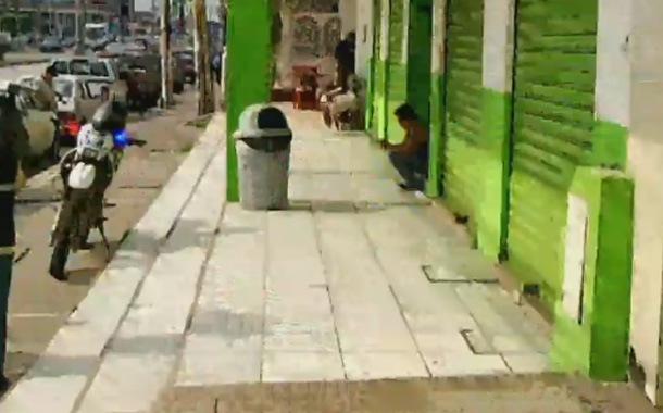 Local de electrodomésticos recibió la visita de antisociales