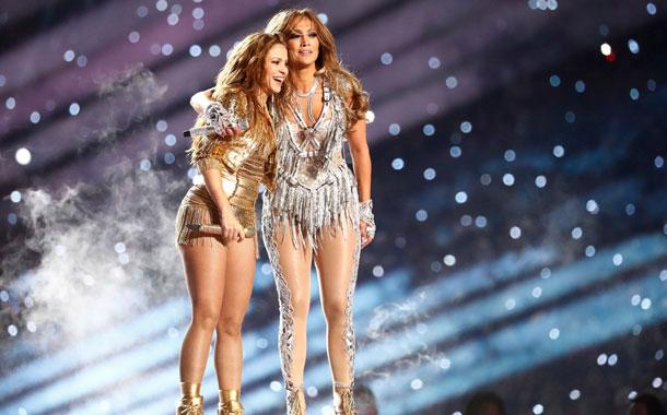 Shakira y JLo en el medio tiempo del Super Bowl 2020