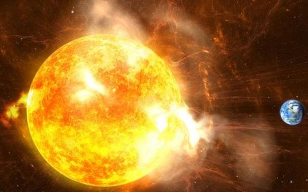 Descubren que las tormentas solares golpean la Tierra cada 25 años