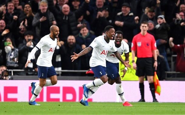 El Totteham venció al Manchester City