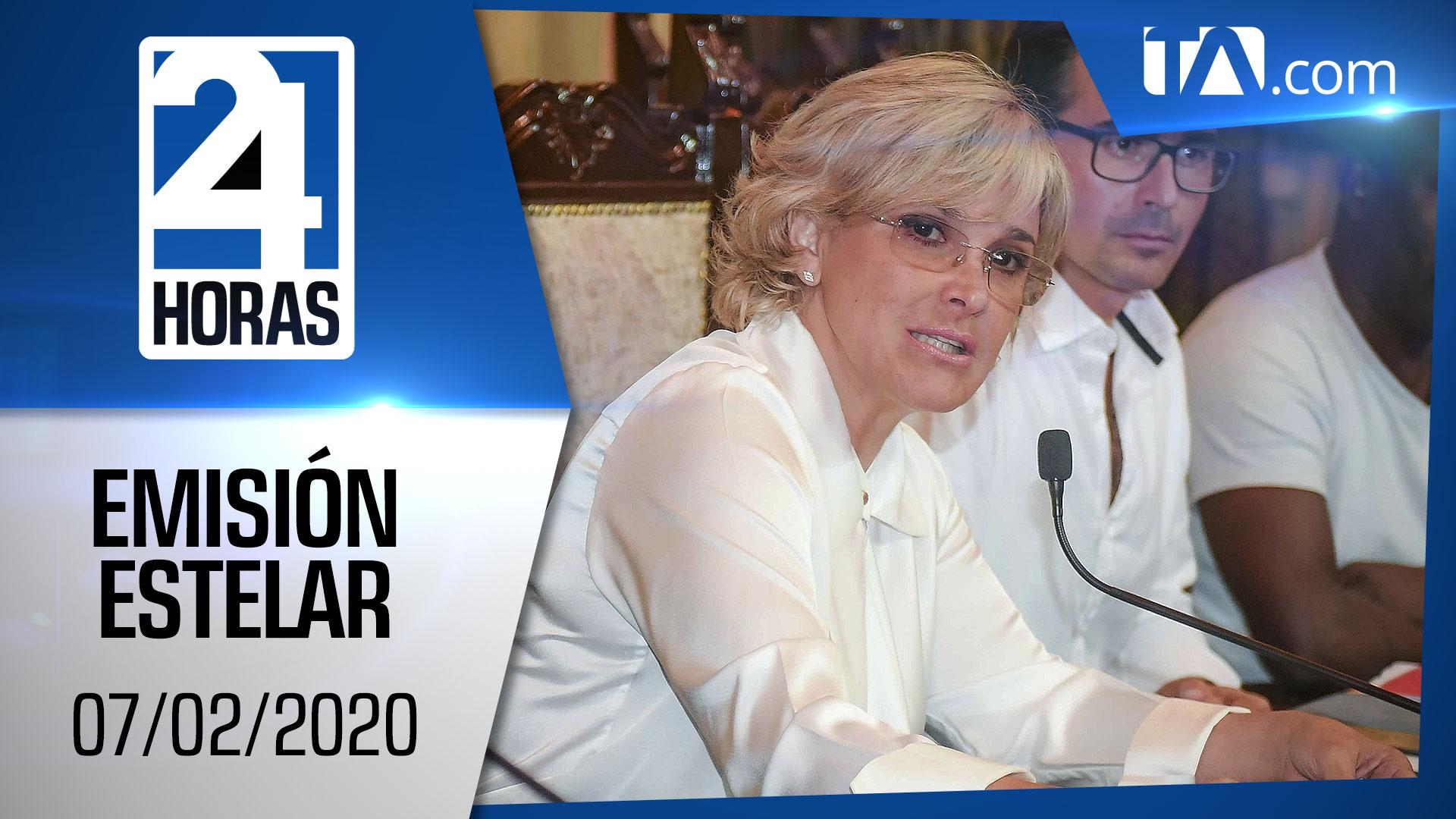 Noticiero 24 Horas, 07/02/2020 (Emisión Estelar)