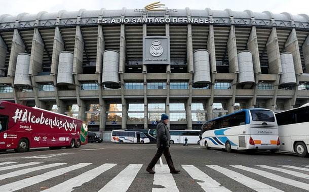 Real Madrid convierte al Bernabéu en centro de acopio de material médico