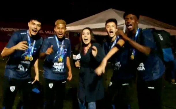 Los campeones de la Libertadores Sub-20 llegaron a Ecuador