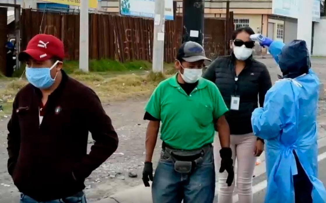 Se incrementan las medidas de control y prevención en varios puntos de Riobamba