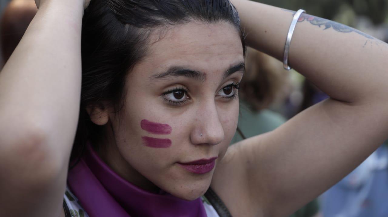 Ciudadanos marcharon en conmemoración del Día Internacional de la Mujer