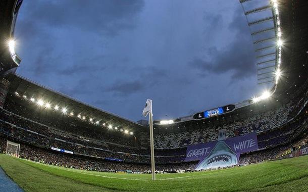 Santiago Bernabéu se convierte en centro de aprovisionamiento sanitario