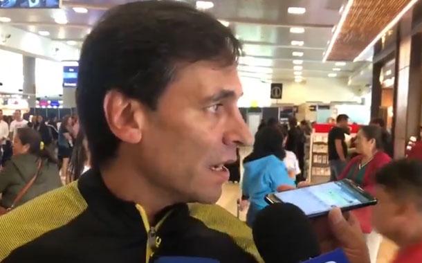 Fabián Bustos ofrece disculpas a Liga
