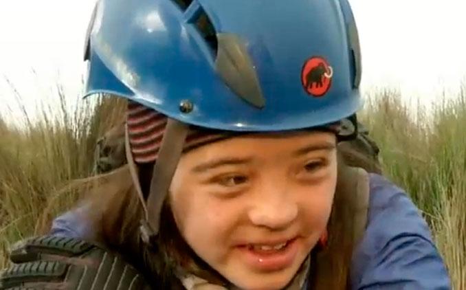 Quiere ser la primera persona con síndrome de Down en coronar el Cotopaxi
