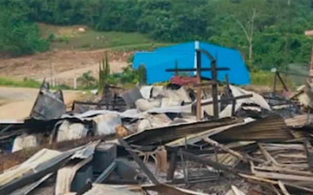 Instalaciones de empresa minera fueron atacadas