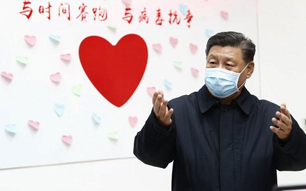 El presidente chino visita Wuhan por primera vez desde que surgió el brote de coronavirus