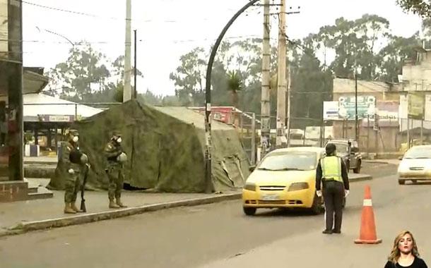 Se realizan operativos de control en el sur de Quito