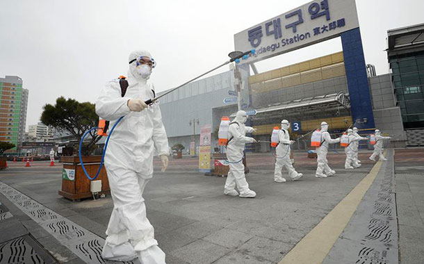 Corea del Sur reporta 599  nuevos casos de coronavirus  y supera los 4.000 contagios