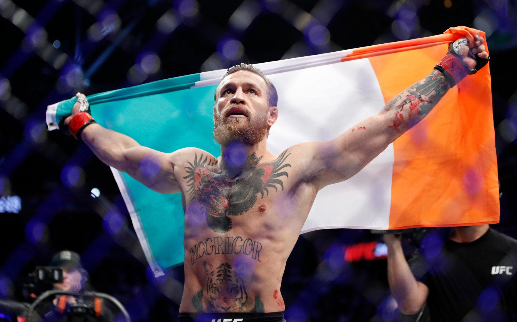 McGregor dona un millón de euros para material de protección contra coronavirus