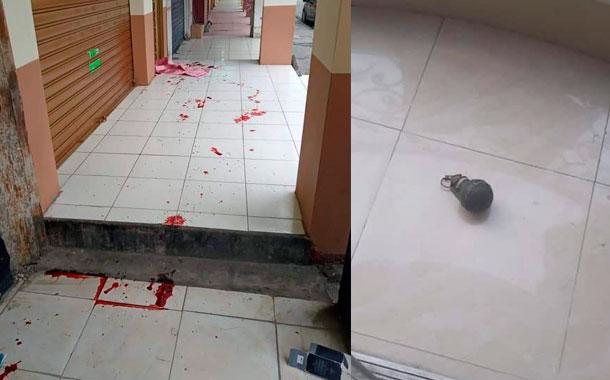 Director del centro de rehabilitación fue intimidado con una granada