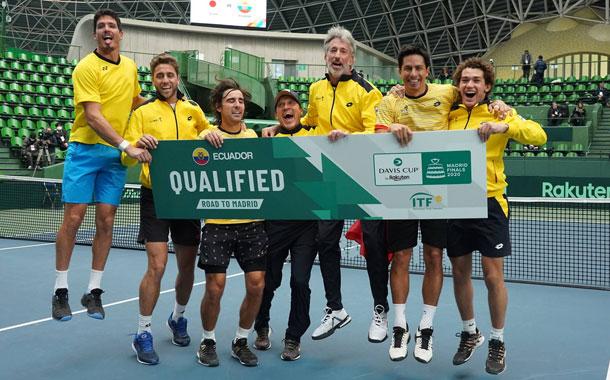 Ecuador clasificó al grupo mundial de Copa Davis