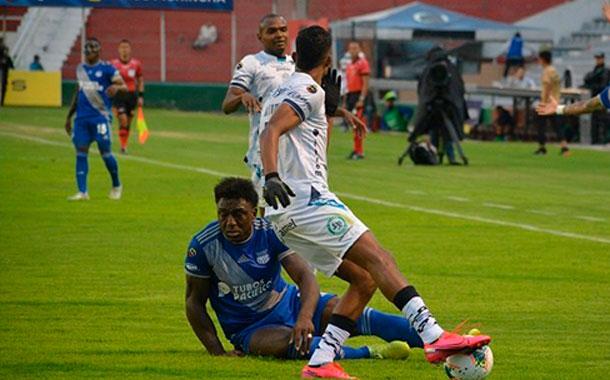 Emelec cayó ante el Macará en el estadio Bellavista