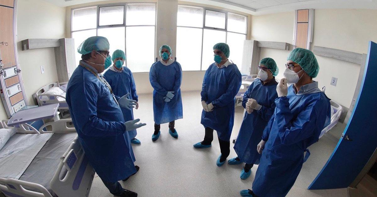198 camas quedaron habilitadas para atender en el Hospital de Monte Sinaí