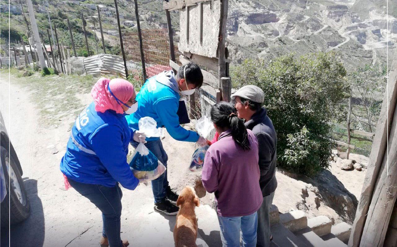 Ante la emergencia continúa la ayuda a grupos vulnerables