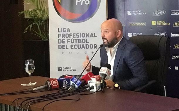 En abril se reiniciaría el fútbol en Ecuador